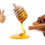 Quế và mật ong – nguyên liệu thần kì giúp bạn giảm  cân nhanh