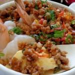 Trứng hấp thịt cay – Món ăn thú vị ngày cuối tuần giúp giảm cân hiệu quả