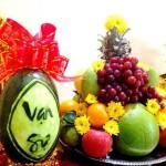 Các loại trái cây giúp giảm cân và bảo vệ sức khỏe trong ngày tết
