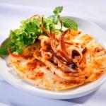 Chế biến món ăn mới lạ từ mực giúp giảm cân ngon miệng