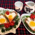 Món xúc xích bọc trứng cho bữa sáng giảm cân thêm thú vị