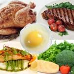 Tư vấn thực đơn giảm cân, tăng cường sức khỏe với nhóm thực phẩm giàu đạm
