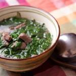 Canh rau ngót thịt bò, món ăn giúp giảm nhanh mỡ bụng
