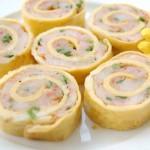 Làm món trứng gà cuộn thập cẩm giúp giảm cân ngon miệng, hấp dẫn