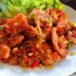 Thịt heo xóc tỏi, món ăn giảm cân lạ miệng ngày cuối tuần