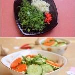 Làm món salad rau củ trộn cho thực đơn giảm cân ngày hè