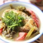 Thực đơn giảm cân hấp dẫn với món canh cải muối chua nấu với cá chép