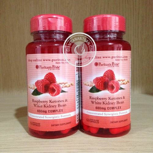 Raspberry Ketones & White Kidney Bean giam can
