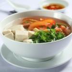 Canh chua nấu chay giúp mọi người cùng giảm cân