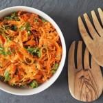 Thực đơn cho bữa sáng giảm cân với món từ salad và súp lơ