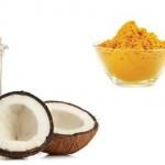 Áp dụng công thức giúp giảm béo bụng hiệu quả từ nghệ và dầu dừa