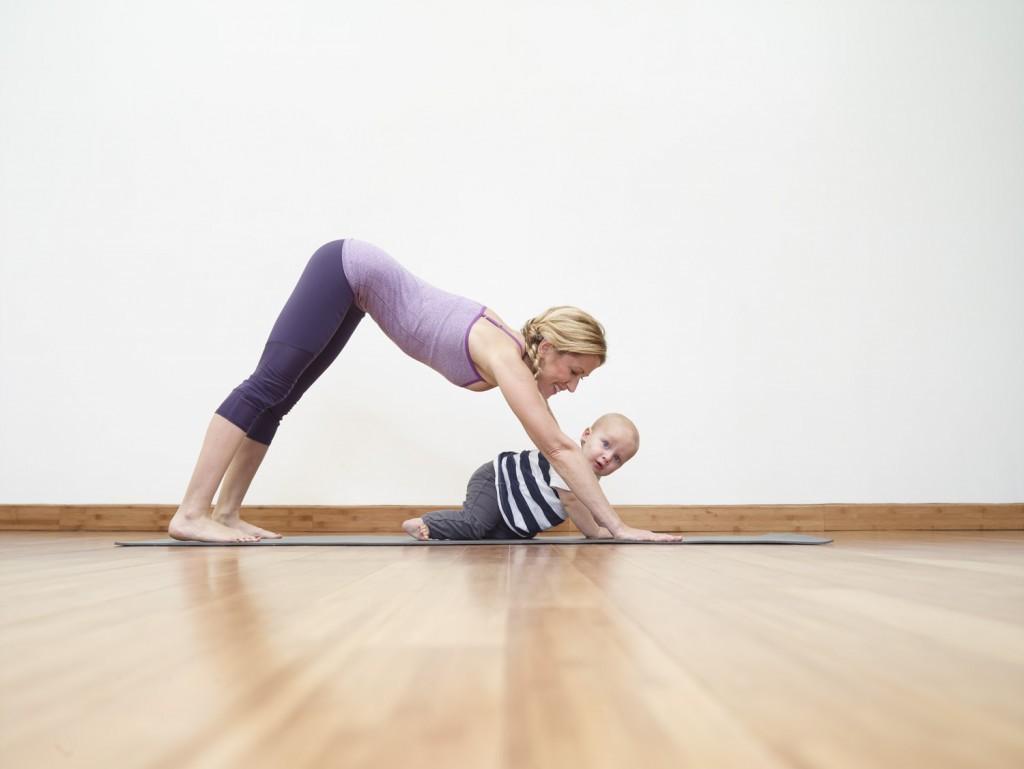 Động tác yoga giúp chị em giảm cân sau sinh an toàn và hiệu quả5