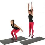 Vận động giảm cân vùng mông và đùi dễ hay khó?