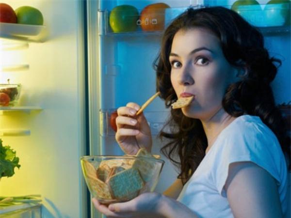 Người ăn đêm  hầu như không thể giảm cân.