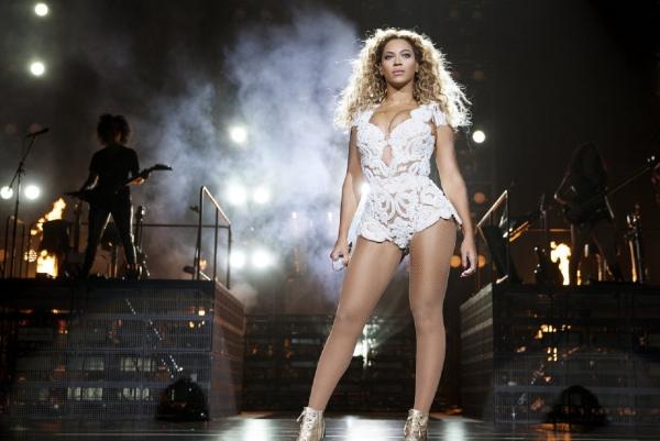 Vóc dáng hoàn hảo của Beyonce