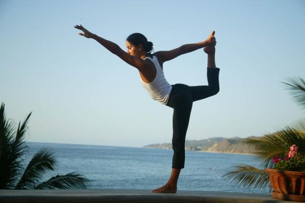 Yoga rất phổ biến ở Ấn Độ.