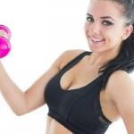 Bật mí 4 bài tập tạ tay trên bóng giúp eo thon, ngực nở