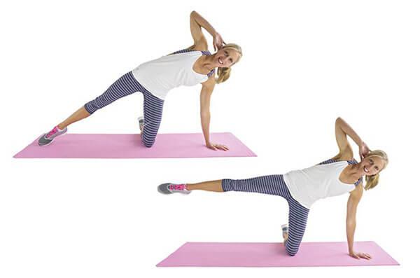 Bí quyết giúp chị em mỡ bụng hiệu quả bằng chuỗi động tác đơn giản4