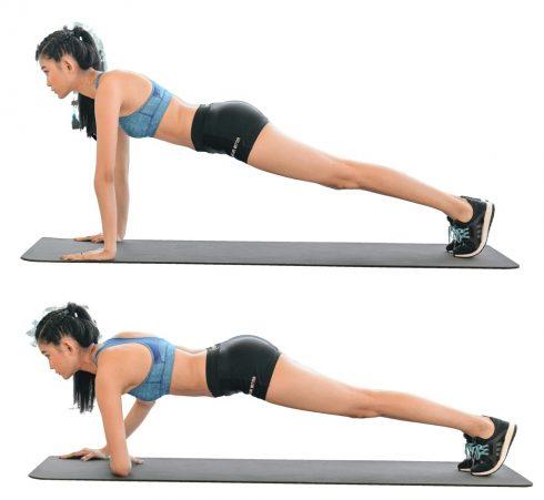 Bí quyết giúp chị em mỡ bụng hiệu quả bằng chuỗi động tác đơn giản6
