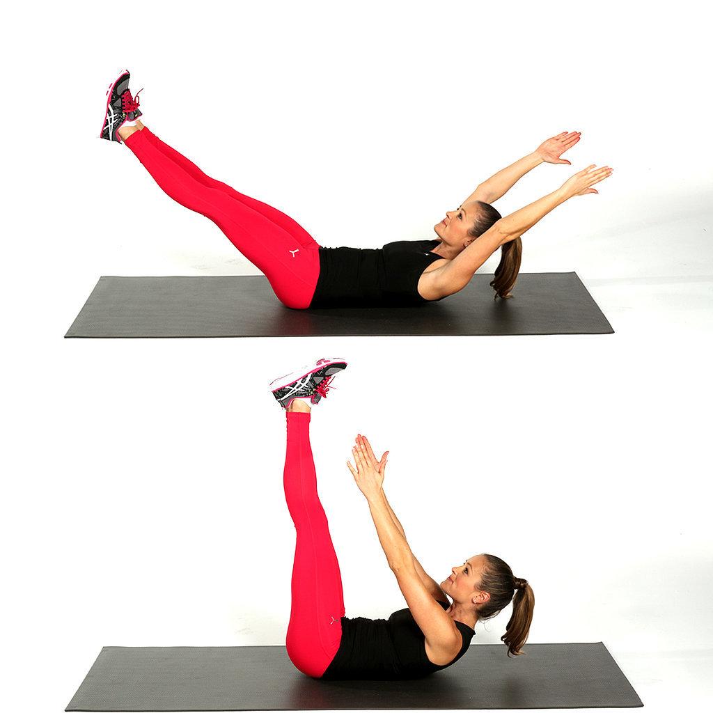 Tập 3 động tác này mỗi ngày sẽ giúp chị em giảm mỡ bụng hiệu quả2