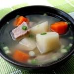 Món canh su hào bổ dưỡng cho thực đơn giảm cân thêm lý tưởng