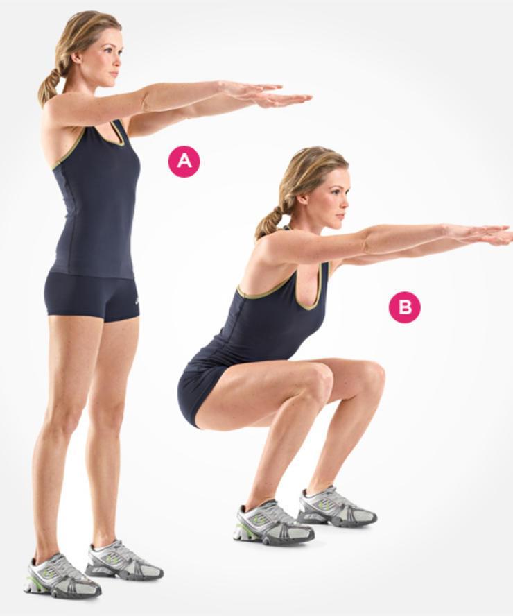 Bật mí 4 bài tập giúp bạn giảm mỡ thừa và đùi thon gọn4