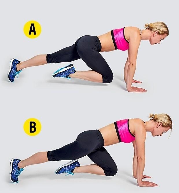 Tư vấn 4 động tác gym tuy đơn giản nhưng giúp giảm mỡ hữu hiệu2