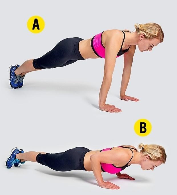 Tư vấn 4 động tác gym tuy đơn giản nhưng giúp giảm mỡ hữu hiệu4