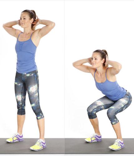 Tư vấn 5 bài tập giúp chị em giảm cân và giảm béo vòng eo2