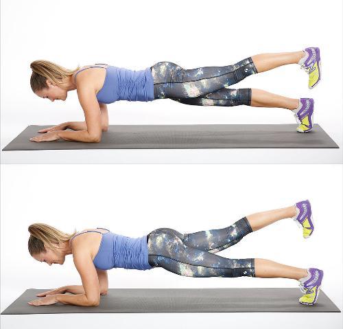 Tư vấn 6 động tác giúp người tập giảm mỡ lưng hiệu quả3
