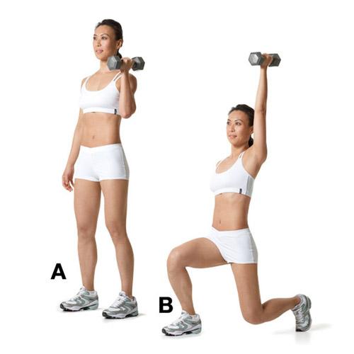 Tư vấn 6 động tác giúp người tập giảm mỡ lưng hiệu quả4