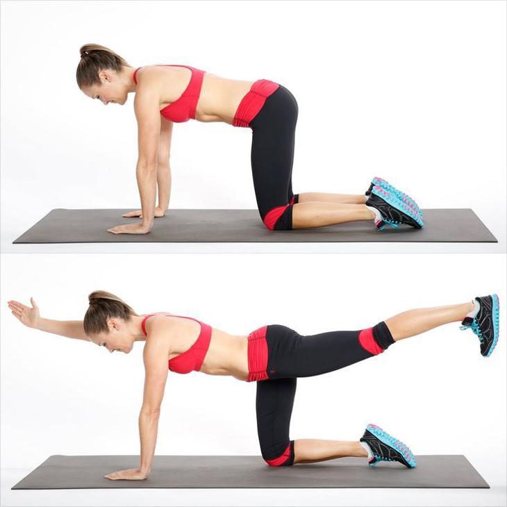 Tư vấn 5 bài tập giúp đánh tan mỡ bụng áp dụng 20 phút mỗi ngày6