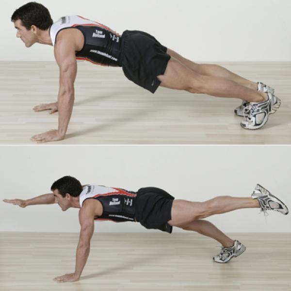 Hít đất đúng cách giúp giảm mỡ bụng giảm béo cực tốt!