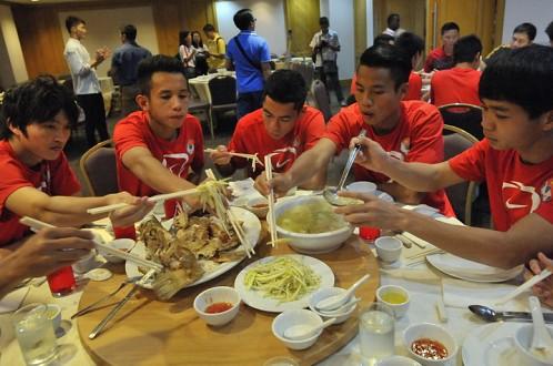 Học các chàng trai U23 Việt Nam để có thân hình rắn chắc4