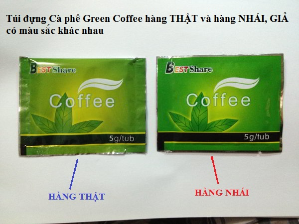 """Trà giảm cân Green Coffee """"trăm mốt, trăm hai"""" và bí mật đằng sau..."""